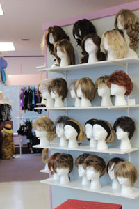 Wigs 'n More in Store Selection